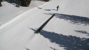 Ski Terrain Park Grind filme