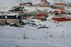 Ski  time Stock Images