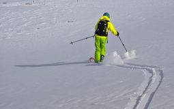 Ski tour Royalty Free Stock Photo