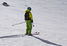 Ski tour Stock Photography
