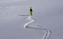 Ski tour Stock Images