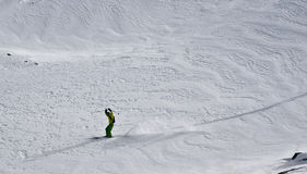 Ski tour Royalty Free Stock Photos
