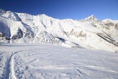 Ski tour paradise Royalty Free Stock Images