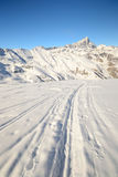 Ski tour paradise Stock Photo