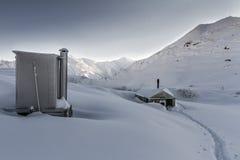 Ski Touring Imagens de Stock