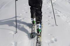 Ski Touring Royalty-vrije Stock Fotografie