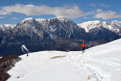 Ski Touring Stock Image