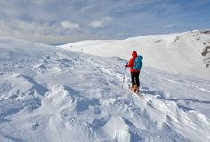 Ski Touring Stock Photos
