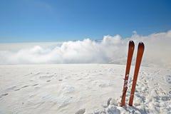Ski touring equipment Stock Image