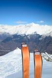 Ski touring equipment Royalty Free Stock Photos
