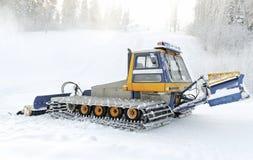 Ski trace. Stock Image