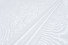 Ski track, abstract background Royalty Free Stock Photos