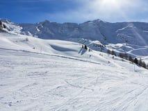 Ski Tracks Images stock