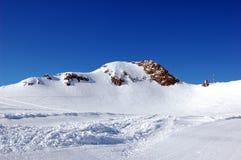 Ski trails Royalty Free Stock Photo