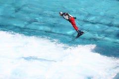 Ski Training olimpico Fotografie Stock