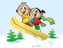 Ski trip Stock Photo