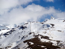 Ski u. Schnee 2 lizenzfreies stockbild
