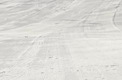 Ski- und Snowboardsteigung Lizenzfreie Stockfotografie