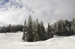 Ski- und Snowboardsteigung Lizenzfreie Stockbilder