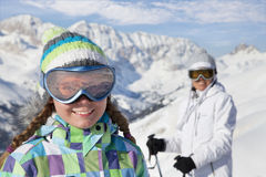 Ski vacation Royalty Free Stock Photo