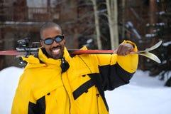 Ski Vacations Stock Photo