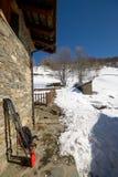 Ski voyageant des outils Photographie stock libre de droits