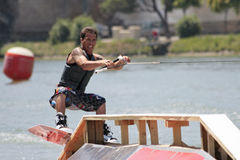 Ski-Wasser lizenzfreies stockfoto