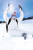 Ski woman Stock Photos