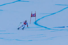 SKI WORLD CUP Stock Photo