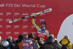 SKI WORLD CUP Royalty Free Stock Photography