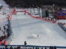 Ski world cup in Bormio Stock Image