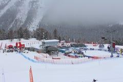 Ski World Cup St Moritz Imágenes de archivo libres de regalías