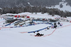 Ski World Cup St Moritz Stock Photo