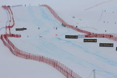 Ski World Cup St Moritz Royalty Free Stock Photo