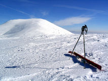 ski2 Стоковое Изображение
