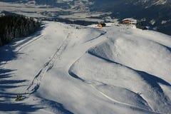 Skiarena Lizenzfreie Stockfotografie