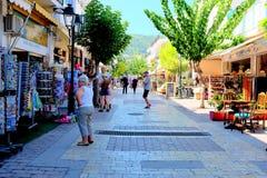 Skiathos,希腊 库存图片