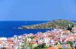 Skiathos, Grecia di estate Immagini Stock