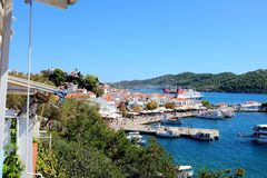 Skiathos, Greece. Royalty Free Stock Photo
