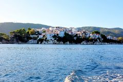 Skiathos, Greece. Royalty Free Stock Photos