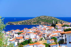 Skiathos, Greece in summer Stock Photo