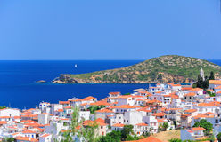 Skiathos, Greece in summer Stock Images