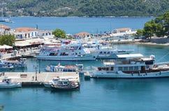 Skiathos Greek Island Port Stock Images