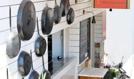 Skiathos Greek Island Restaurant Stock Images