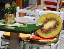 Skiathos Greek Island Restoraunt Royalty Free Stock Photos