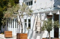 Skiathos Greek Island Restoraunt Royalty Free Stock Image