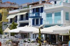 Skiathos Greek Island Street Stock Images