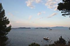 Skiathos, Griechenland lizenzfreies stockbild