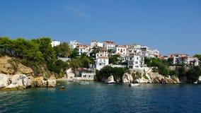 Skiathos-Insel, Griechenland. Lizenzfreie Stockfotografie