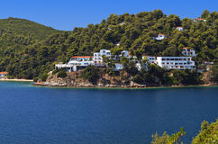 Skiathos island in Greece Stock Images